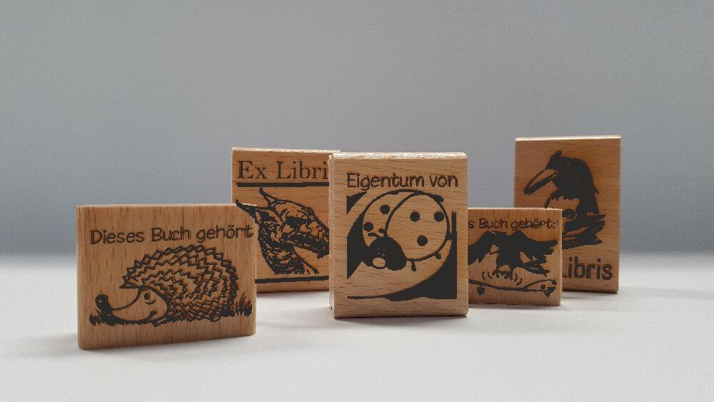 ExLibris / Kinderstempel/Motivstempel