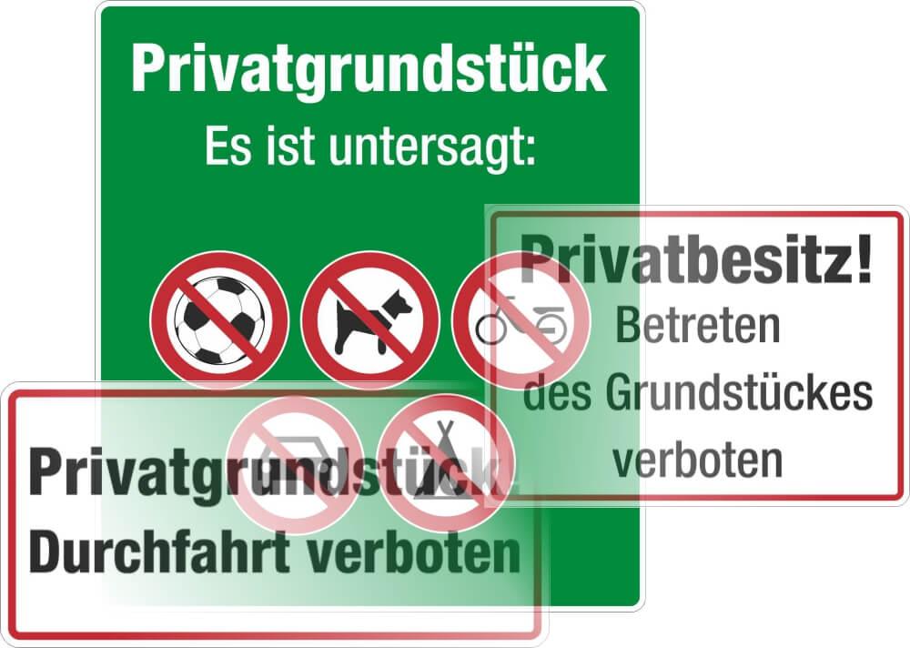 Privatweg/Privatgründstück